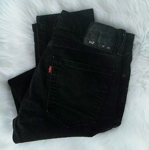 levis strauss & co. 512 skinny/straight jeans!